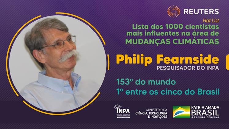Pesquisador do Inpa é o cientista mais influente do Brasil em mudanças climáticas